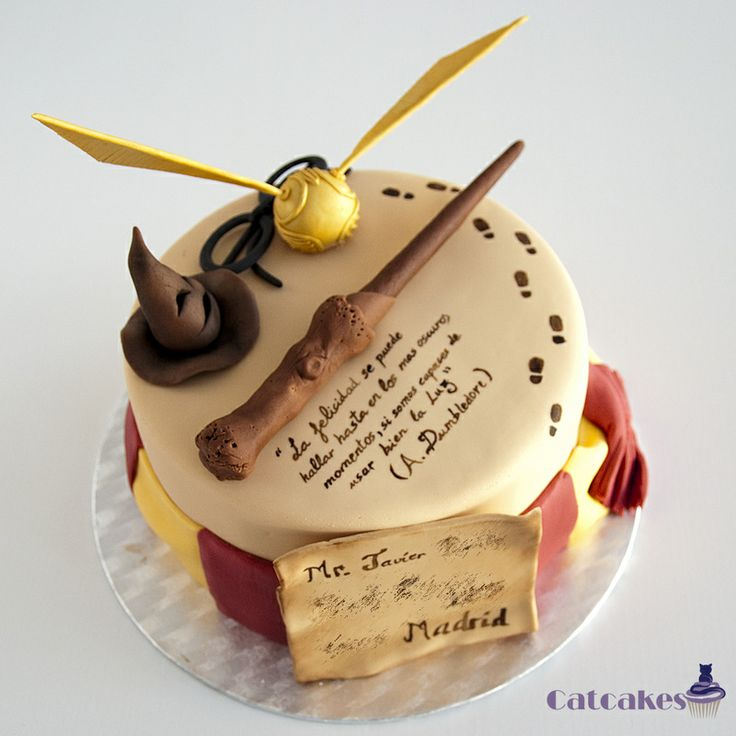 Harry Potter cake Temáticas - Catcakes
