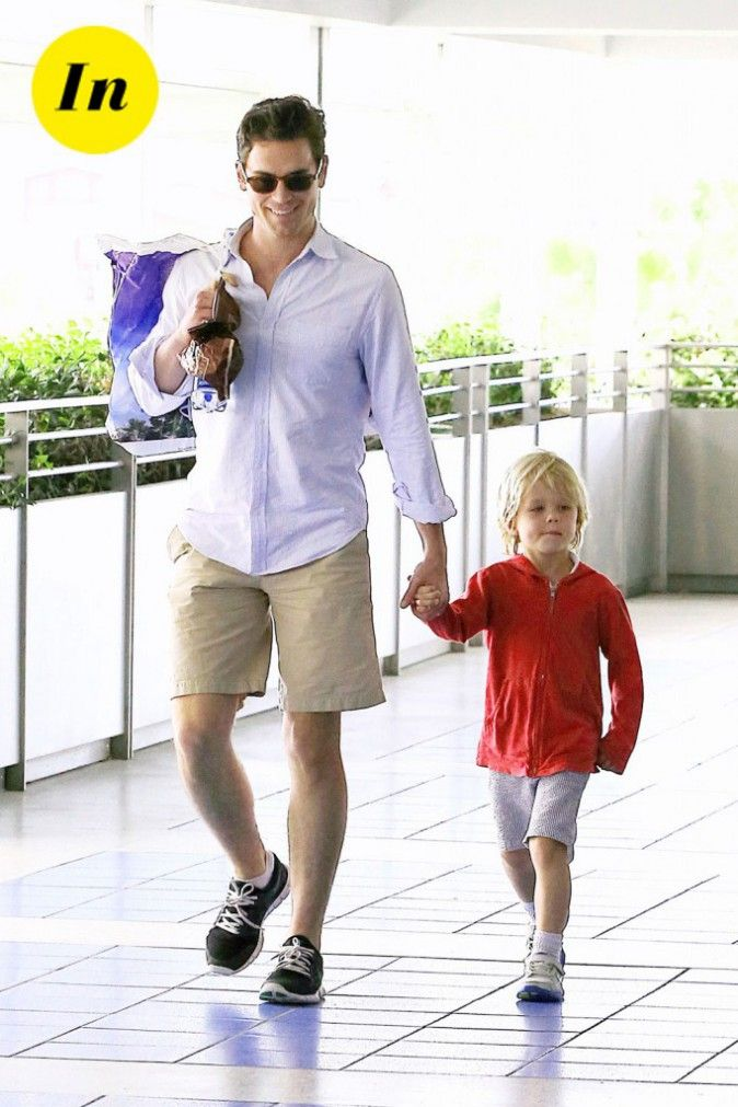 Bomer and OUR son (my imagination is inmense).     *Note to myself: I should go to matt psychologist, sorry, my psychologist.  IDK whom I'm thinking.