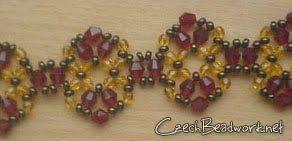Un muestrario de diferentes formas de enfilar cuentas (rocallas, mostacillas, perlas, cristales) para lograr bonitas pulseras. Combinando co...