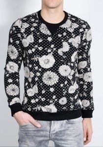 Deze gave Chasin' trui is nu in de uitverkoop en je vindt 'm bij Aldoor! #mode #heren #mannen #trui #sweater #shirt #bloemen #floral #men #fashion #sale
