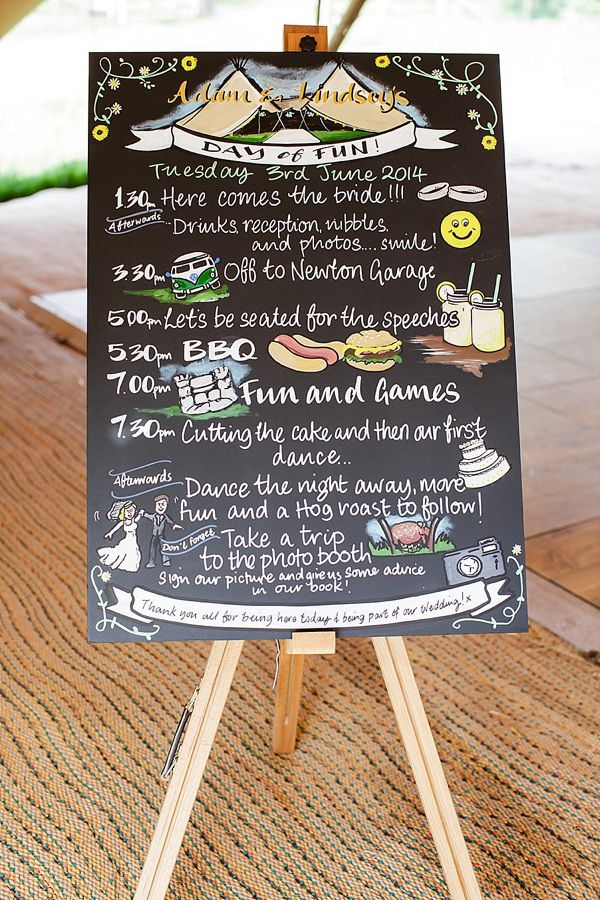 Lemon Lime Tipi Wedding Black Board Sign http://www.tuxandtalesphoto.co.uk/