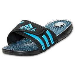 Women\u0027s adidas Adissage Fade Sandal | FinishLine.com | Black/Blue