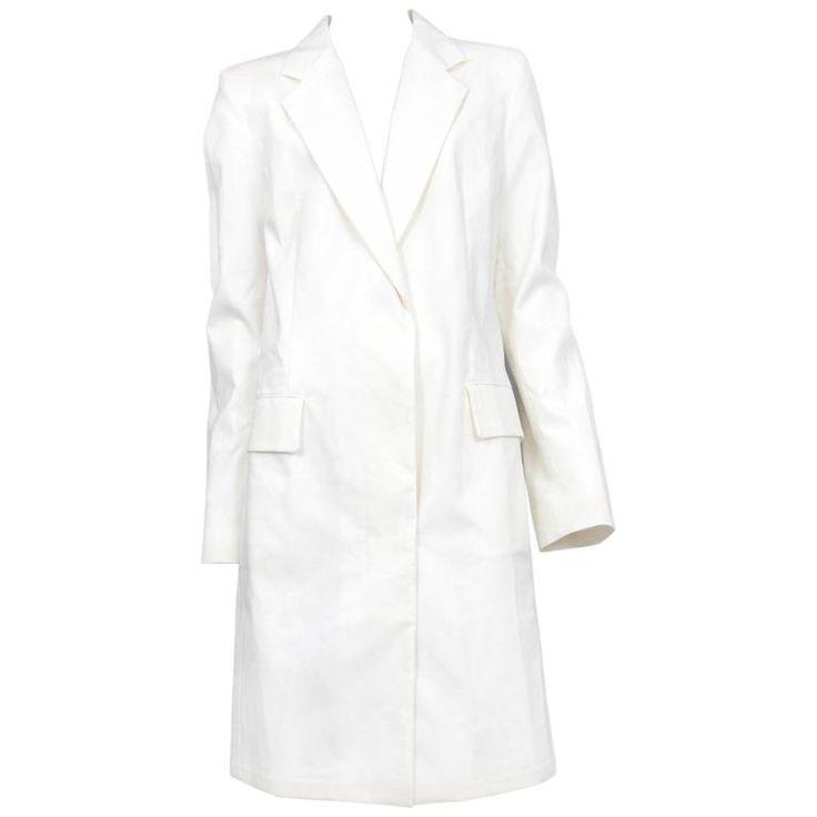 Martin Margiela White Lab Coat | 1stdibs.com