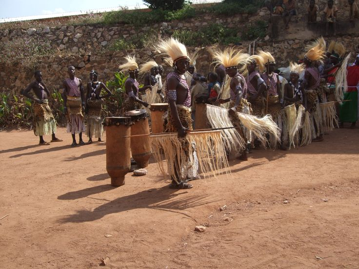 traditional dancers, waiting to perform
