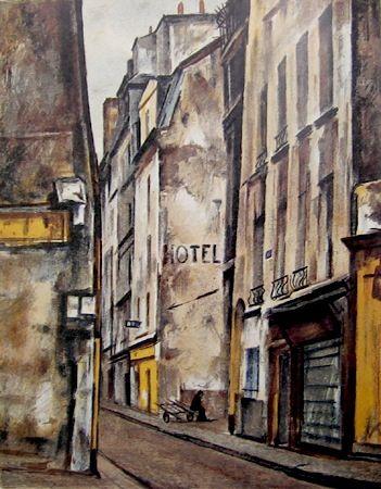 Ogisu Takanori, Rue Quincampoix, Paris
