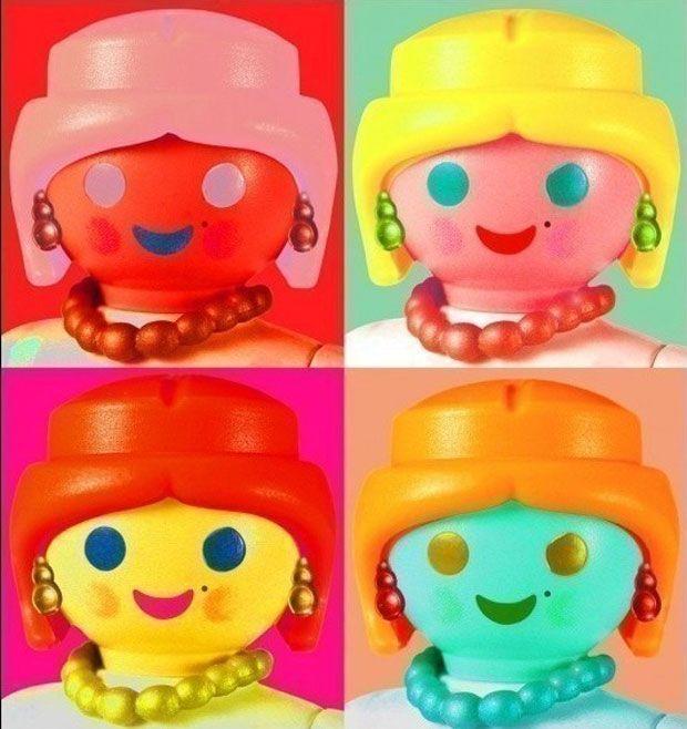 Andy Warhol Playmobil