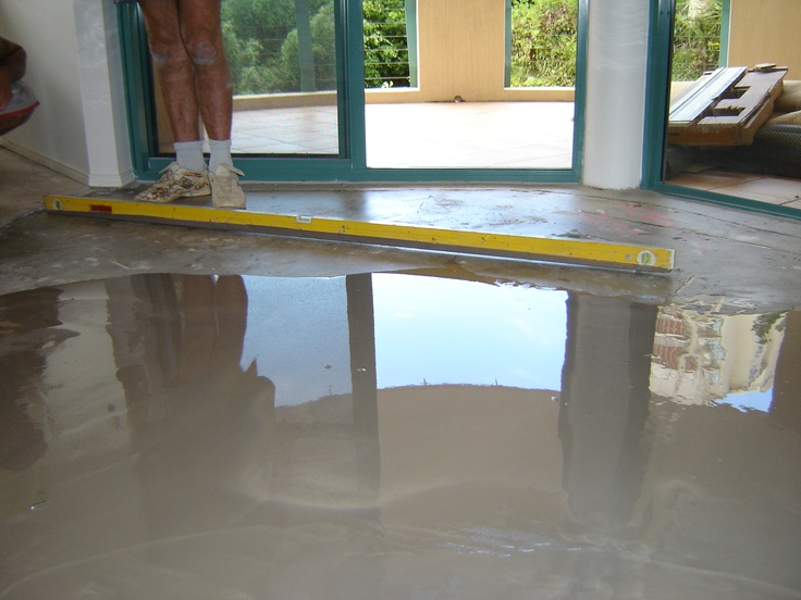 Carpet Call installers ensure that the floor is flat, dry and level before installing timber floors