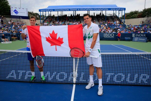 Milos Raonic dominates Vasek Pospisil to win Citi Open Title in the first all Canadian ATP final | canada.com