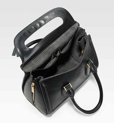 Celebrate Handbags: Alexander McQueen Heroine Small Top Handle Satchel