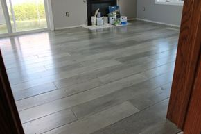 Plywood floors--look great & inexpensive!