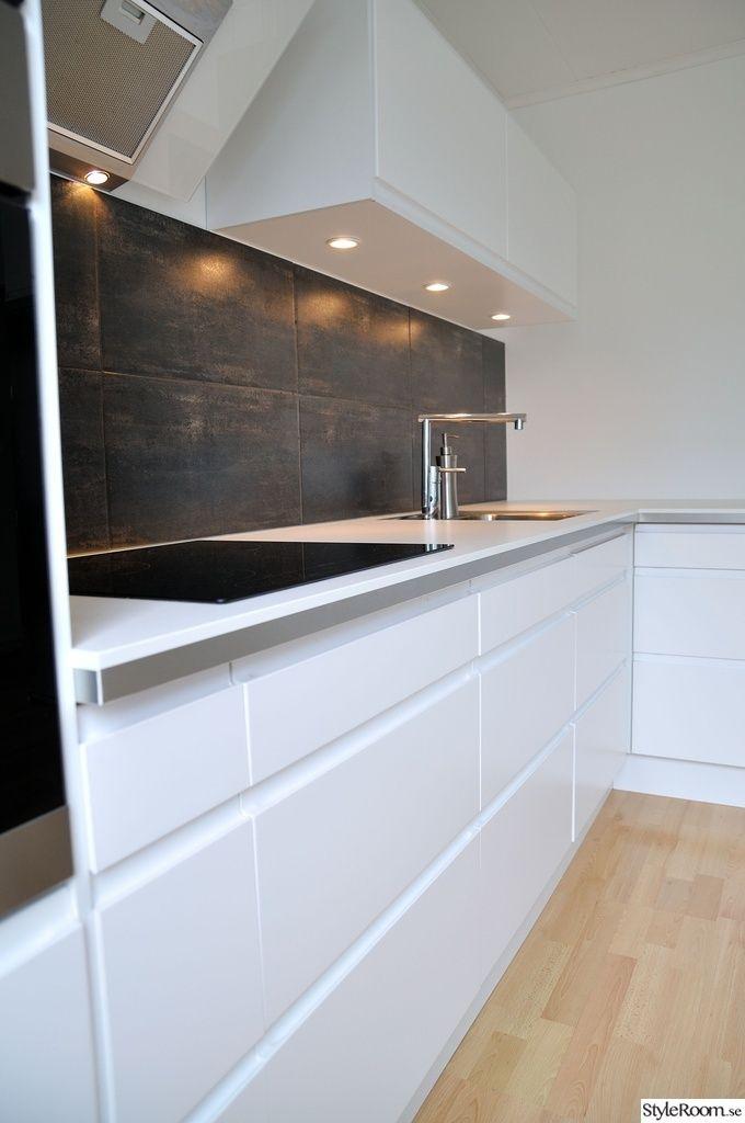 Kok On Pinterest White Kitchens Inredning And Dry Brush Painting Ikea
