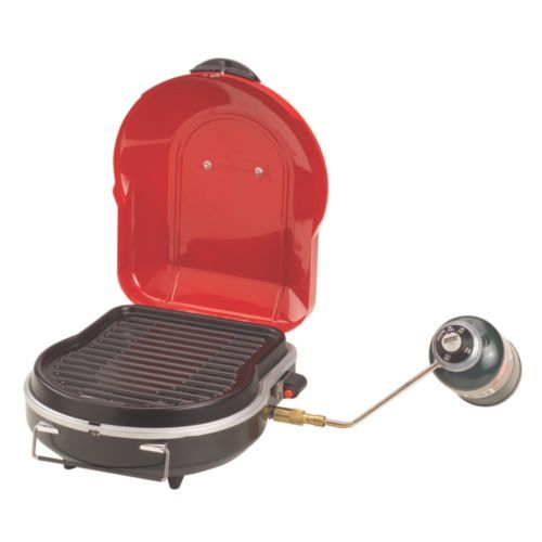 Cook breakfast, lunch and dinner on a grill that folds up smaller than a briefcase with the lightweight Coleman® Fold N Go™+ Propane Grill. The large cooking surface gives you the space to prepare dishes for the entire camp. Just hit the Instastart™ push-button ignition and dial in your heat with the adjustable burner. The PerfectFlow™ technology keeps the heat steady on the 6,000-BTU burner. It's also easy to clean. A removable tray collects the grease while you're cooking, and the grate is…