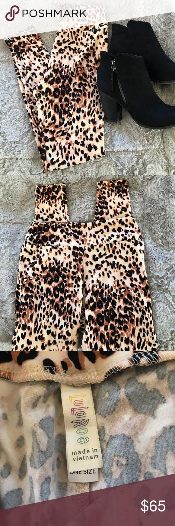 🦄 Unicorn print - NWOT Cheetah leggings. 🦄 Unicorn print - New, never worn, Cheetah leggings. LuLaRoe Pants Leggings