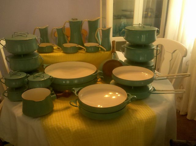 Dansk Kobenstyle Cookware in Turquoise -- I dream of finding an entire set of this at a rummage sale or thrift store. & 15 best Dansk Kobenstyle images on Pinterest | Tea pots Cooking ...