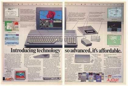 Atari 1040ST Personal Computer Affordable (1986)