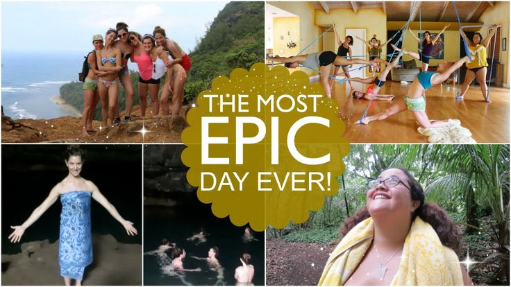 The most EPIC DAY EVER!!!! Hike & swimming in the Blue Room!