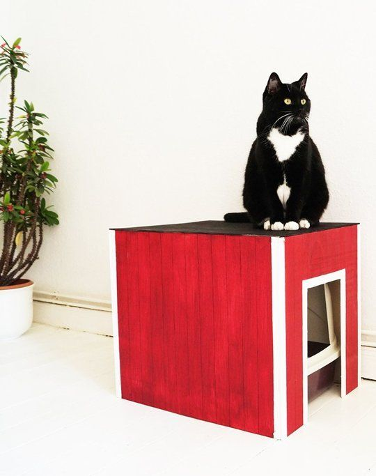 How to Make a Swedish-Inspired Litter Box Cover — Apartment Therapy Reader Tutorials