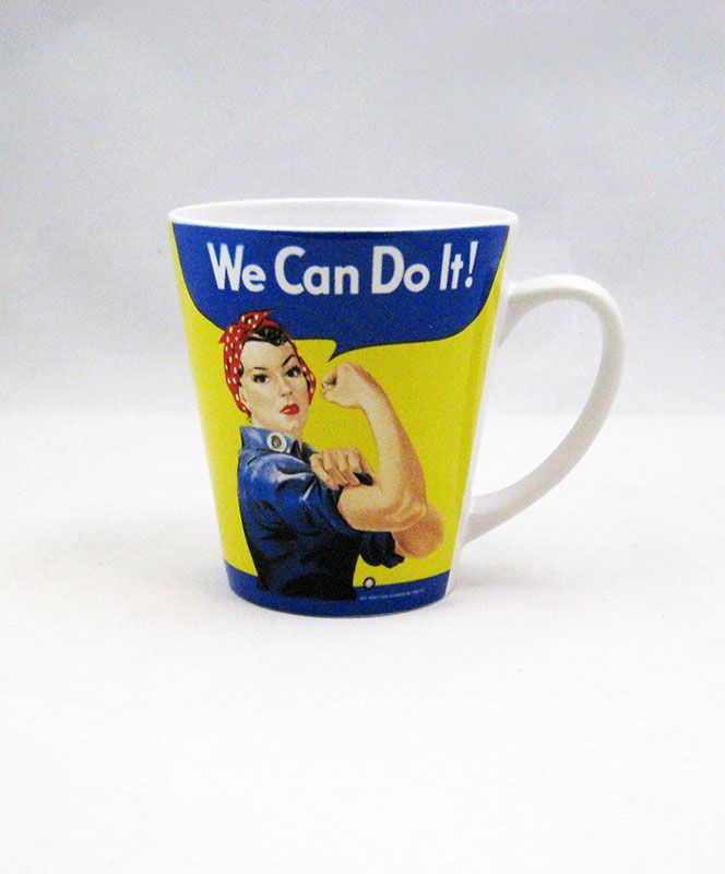 Rosie the Riviter 12oz Latte Mug #museumofflight