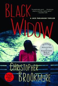 #Bookreview If you're looking for something not Xmasy... BLACK WIDOW by Christopher Brookmyre (@cbrookmyre)