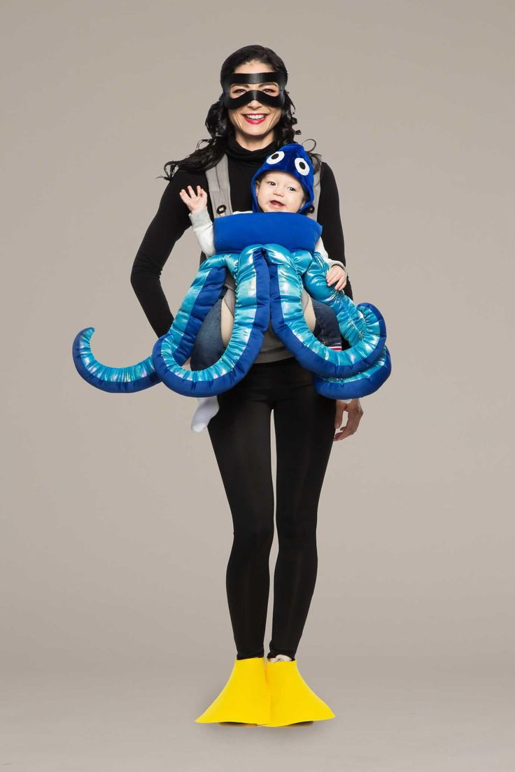 Scuba Diver & Octopus Baby Carrier Costume Kit                     Chasing Fireflies