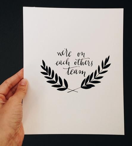Team Art Print by Anna Tovar on Scoutmob Shoppe