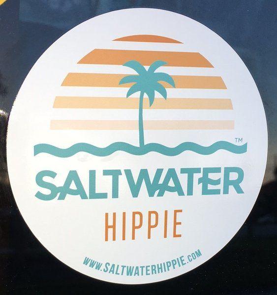 9 Best Saltwater Hippie Stickers Images On Pinterest