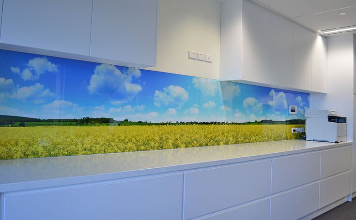 Digital printed Glass from your own picture