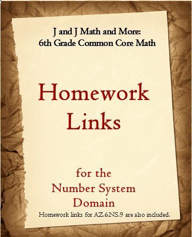 Don't pay $1 - $2 per worksheet---this product links you to hundreds of possible worksheets for every concept in the Number System Domain. The links are not only organized by standards, but by sub-objectives, and the worksheets are free!  Updated 2015