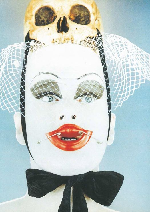 Leigh Bowery by Nick Knight, 1992. THE original club kid - an Australian in London and creator of club TABOO - pinned by RokStarroad.com