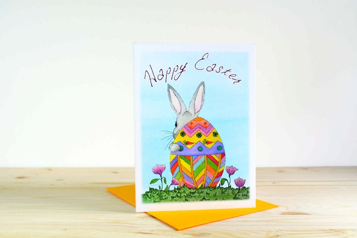 Easter Greetings A7 (5x7)