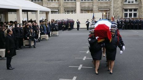 France attacks: Funeral ceremonies in Paris and Jerusalem