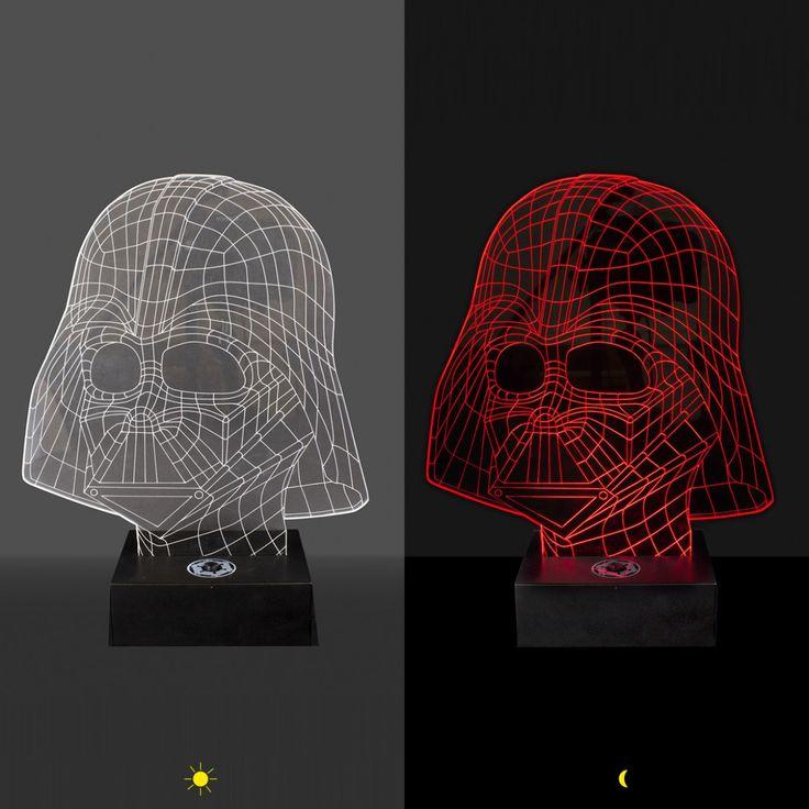 Simple Die Star Wars Darth Vader Leuchte mit D Effekt und USB Anschluss f r alte