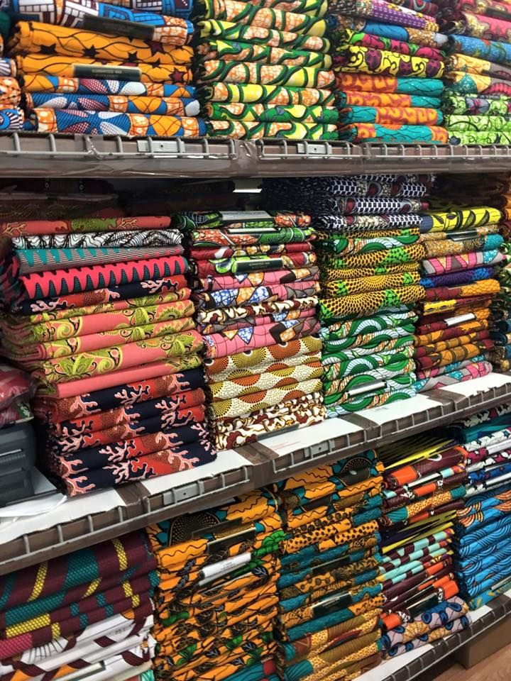 Wholesale African Fabrics supplier from New York Visit