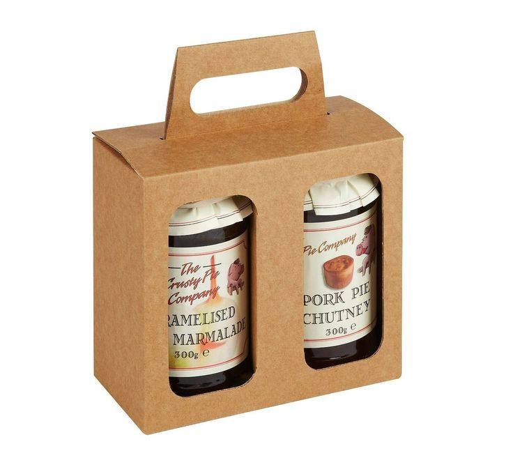 Double Jam/Preserve Jar Box - Pack of 25 - Gift/Presentation Pack
