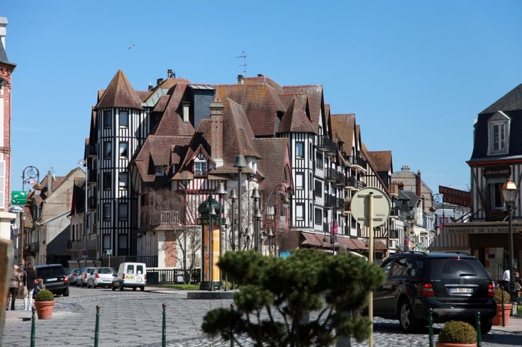 Deauville, France. Cute.