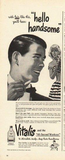 Vitalis hairtonic 1948