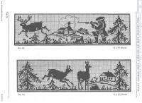 "Gallery.ru / Olgakam - Альбом ""Лесные животные (схемы) 2"""
