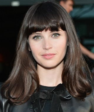 """Felicity Jones tries to deflect a question about whether or not she's playing Black Cat in the upcoming sequel """"The Amazing Spider-Man 2."""""""