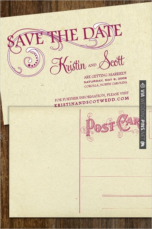 19 best images about save the date on pinterest fonts for Free vintage save the date templates