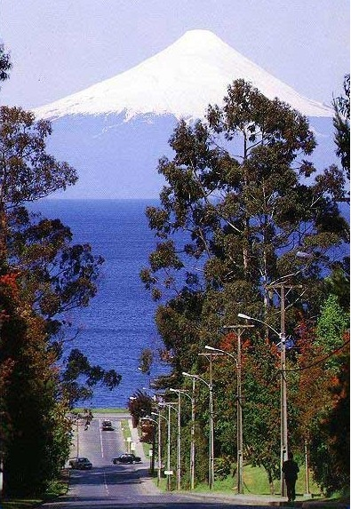 Frutillar is in the Los Lagos region to the South of Chile