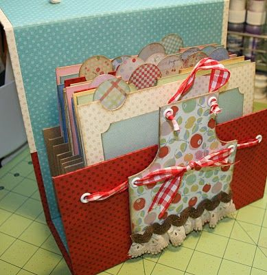 The Paper Trail: Recipe Box Class tonight on Ustream!