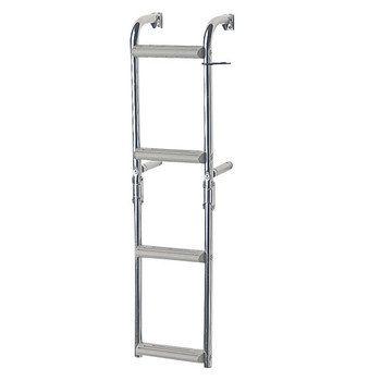 Foldable Ladders for narrow transom, 90⁰, Inox 316