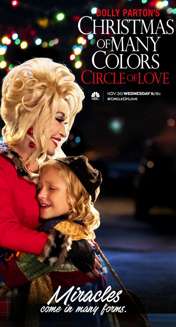 We're bringing the holiday magic right to your home! Dolly Parton's Christmas of Many Colors: #CircleofLove premieres Wednesday, November 30 at 9/8c on NBC.