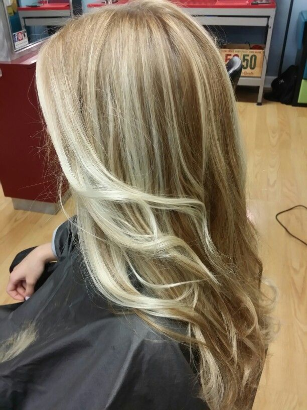 Hair Painting Sombre Balayage Beautiful Blonde Blondes Hair