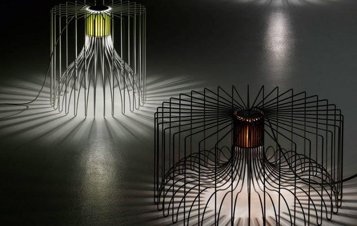 Table lamp / contemporary / iron - ICARO by Brian Rasmussen - modo luce