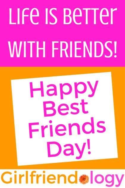 10 ways to Celebrate National Best Friends Day (& Fun Friendship Infographic!)