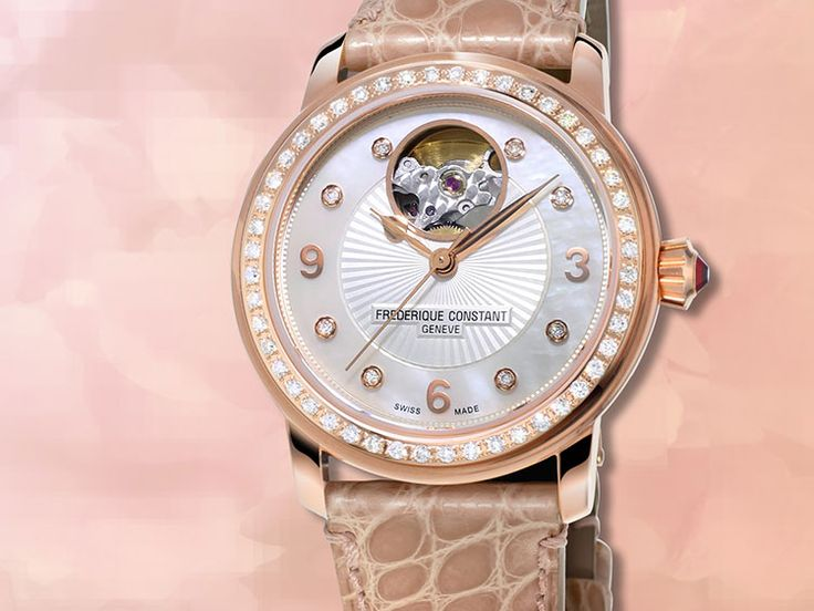 Frédérique Constant Lady Automatic Heart Beat FC-310HBAD2PD4 (donated for the Global Gift Gala dinner in Cannes http://bit.ly/1cYVgoS)