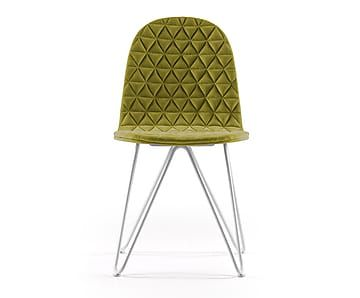 """Krzesło pikowane w kratkę """"Mannequin"""""""