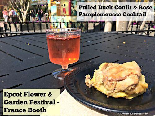 2017 Epcot Flower Garden Festival Menus Epcot And France