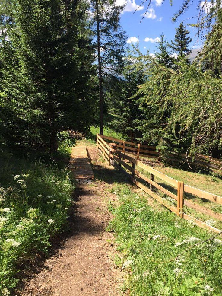 Sommerliche Wanderung im Dreiländer Eck in Nauders am Reschenpass